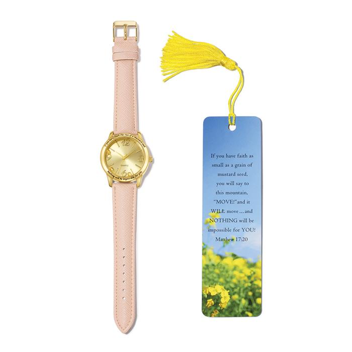 Avon Mustard Seed Watch & Bookmark Gift Set | Your Online Beauty Rep