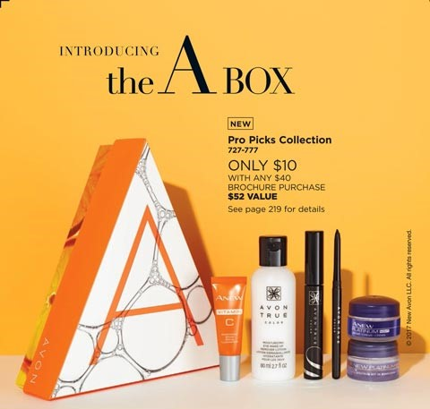 Avon Campaign 19 Brochure A-Box | Your Online Beauty Rep