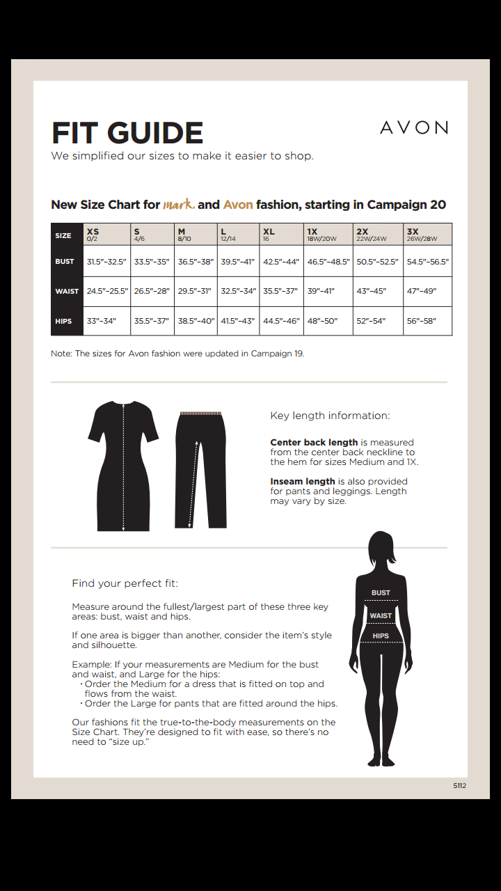 How Does Avon Clothing Fit? | Your Online Beauty Rep